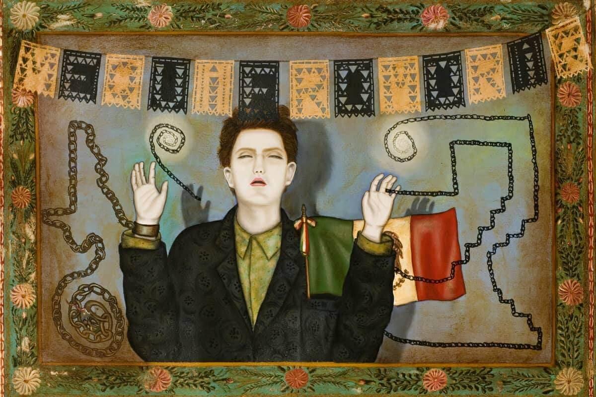 Me quiero morir (1985), óleo sobre tela.