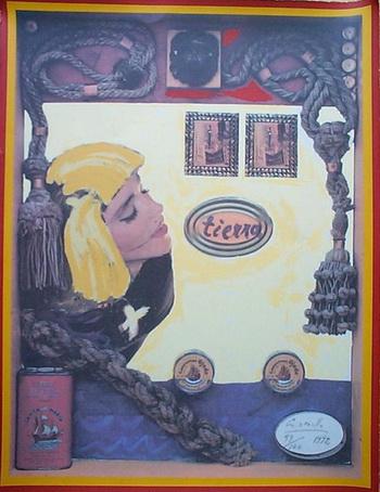 Alberto Gironella, Madonna-1992.